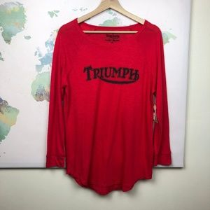 NWT Lucky Brand X Triumph Shirt Size Medium